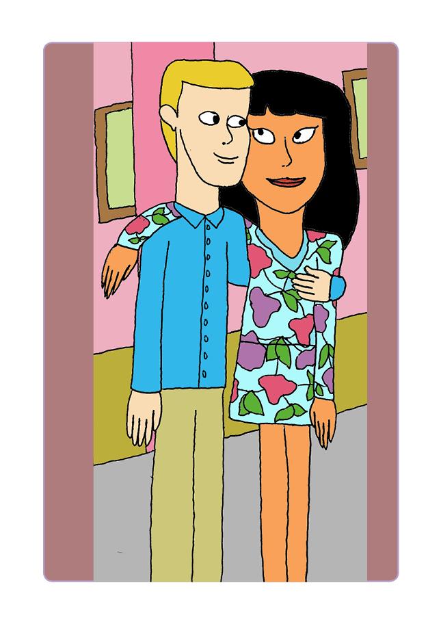 Lea och Simon