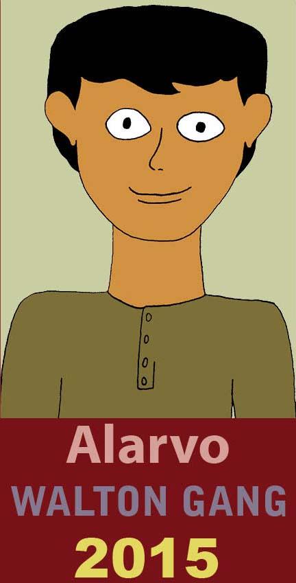 Den nya karaktärern Alvaro