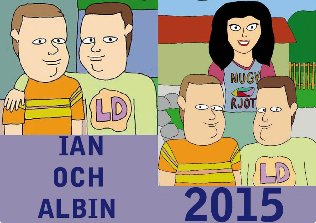 Ian och Albin