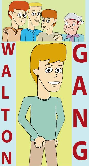 Omslag Walton Gang