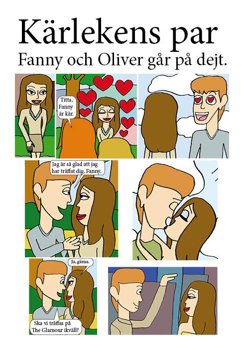 Fanny och Oliver går på dejt 1