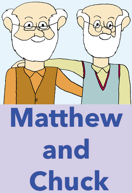 Matthew och Chuck