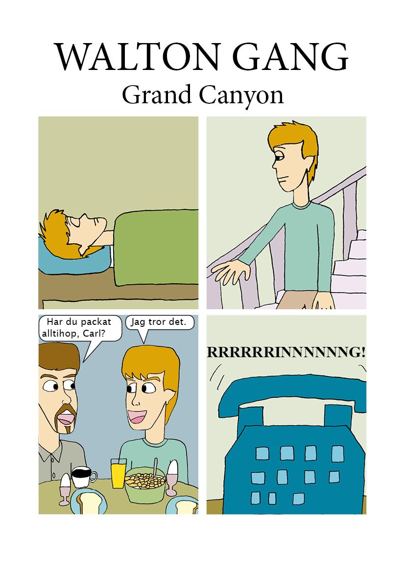 Äventyr i Grand Canyon 1